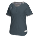adidas Diamond Queen Faux Full Button Jersey - League Outfitters