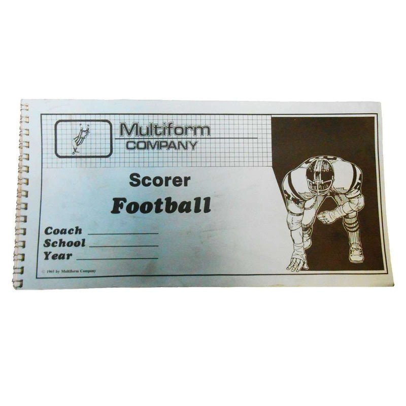 Multiform Company Football Scorer - League Outfitters