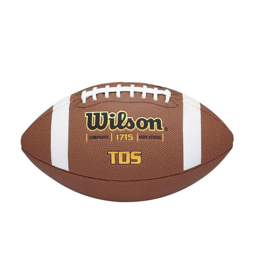 Wilson TDS Official Composite Leather Football - League Outfitters