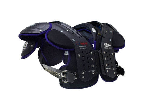 Schutt O2 Maxx All Purpose Adult Shoulder Pads - League Outfitters
