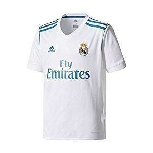 adidas Youth Real Madrid Home 17/18 Soccer Jersey - League Outfitters