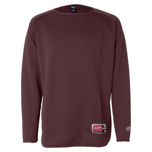 Rawlings Youth Long Sleeve Fleece Pullover - League Outfitters