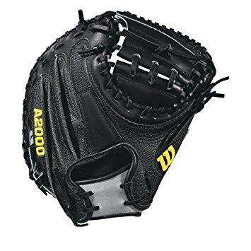 "Wilson A2000 M2 SuperSkin 33.5"" Baseball Catcher's Mitt - League Outfitters"