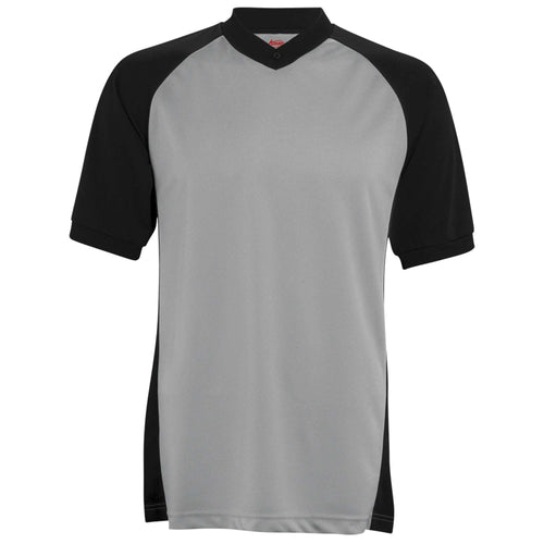 Adams Short Sleeve Basketball Referee Shirt w/ Raglan Sleeves - League Outfitters