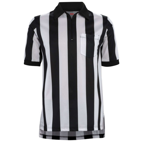 "Adams 2 1/4"" Stripe Short Sleeve Football Referee Shirt - League Outfitters"