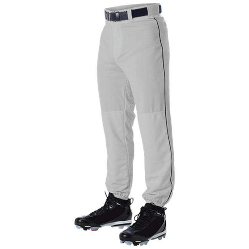 Alleson Adult Baseball Pants with Piping - League Outfitters