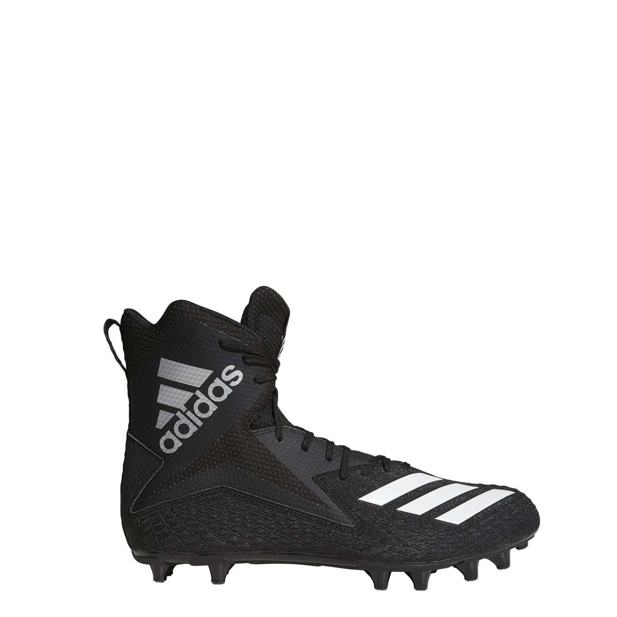 online store c989c 35999 adidas Freak High Wide Football Cleats - 10.5   Black White