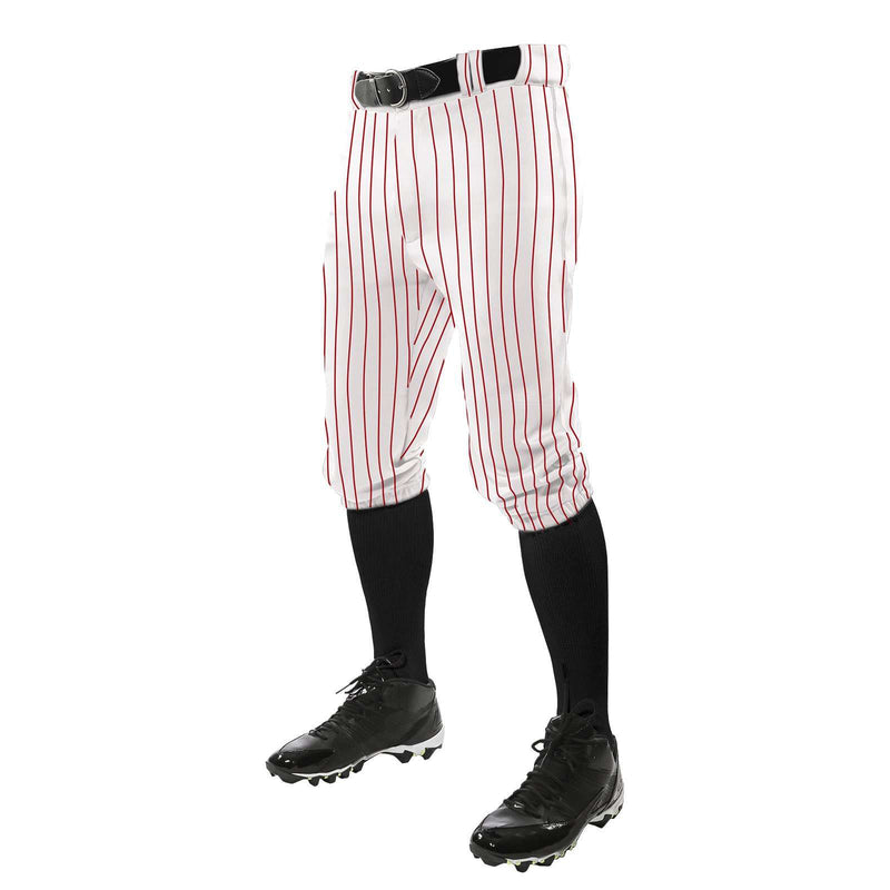 Champro Triple Crown Knicker Pinstripe Youth Baseball Pants - League Outfitters