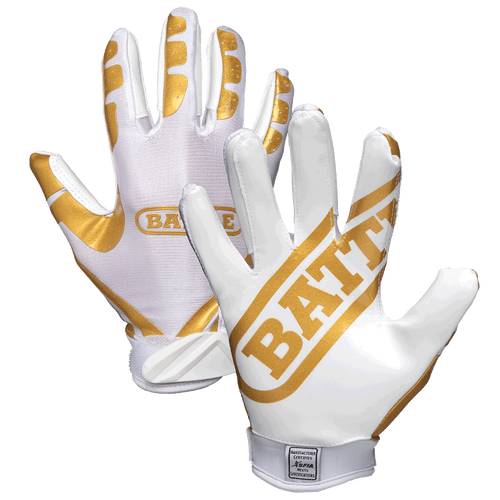 Battle Ultra-Stick Adult Football Receiver Gloves - League Outfitters