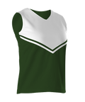 Alleson Womens Cheerleading V-Shell Top - League Outfitters