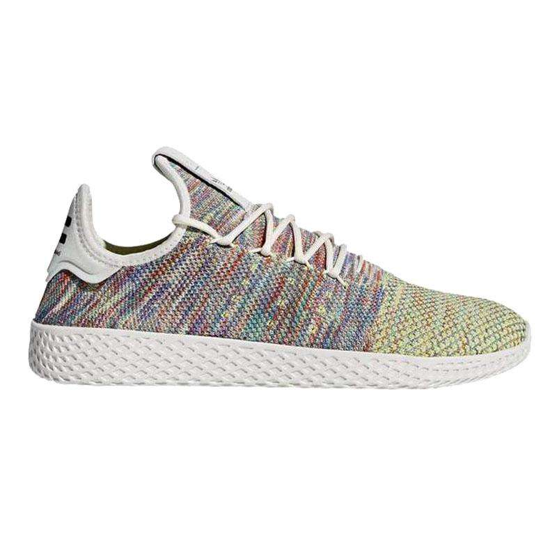adidas Pharrell Williams Tennis Hu Primeknit Shoes - League Outfitters