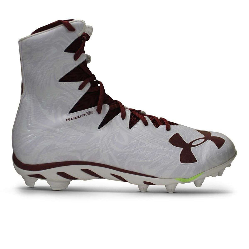 Under Armour Team Spine Highlight Molded Football Cleats - League Outfitters
