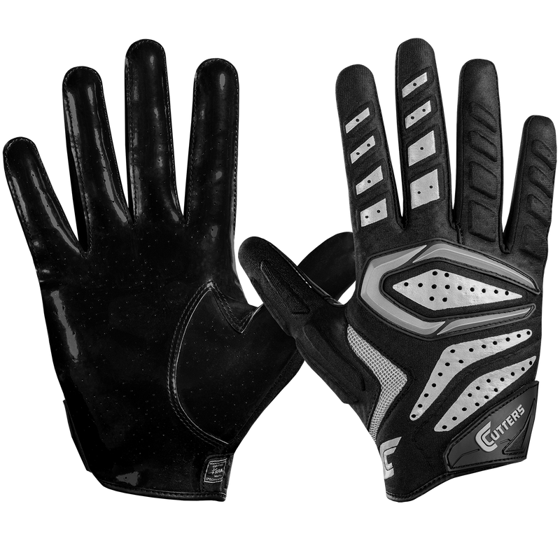 Cutters Youth Gamer 2.0 All Purpose Football Gloves - League Outfitters