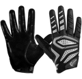 Cutters Adult Gamer 2.0 Padded Receiver Football Gloves - League Outfitters