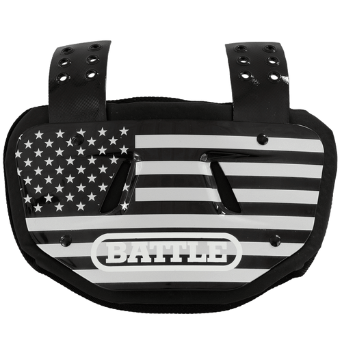 Battle Youth Chrome American Flag Back Plate - League Outfitters