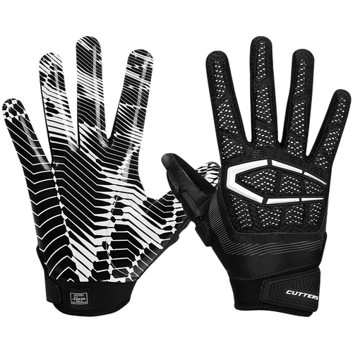 Cutters The Gamer 3.0 Youth Football Reciever Gloves - League Outfitters
