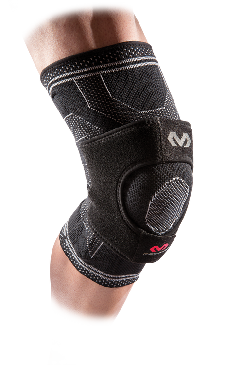 McDavid Elite Elastic Knee Support w/ Dual Wrap & Stays - League Outfitters