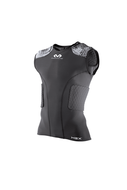 McDavid Adult Hex 5-Pad Sleeveless Shirt - League Outfitters