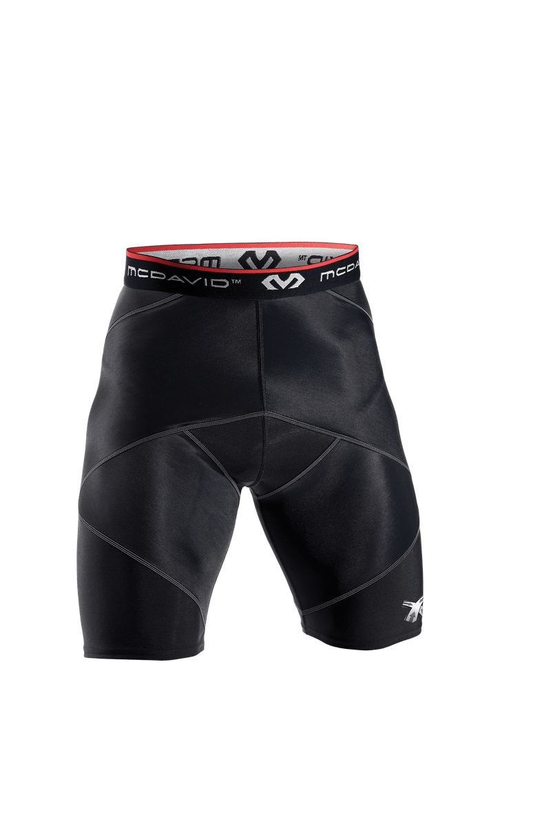 McDavid Adult Cross Compression Short w/Hip Spica - League Outfitters