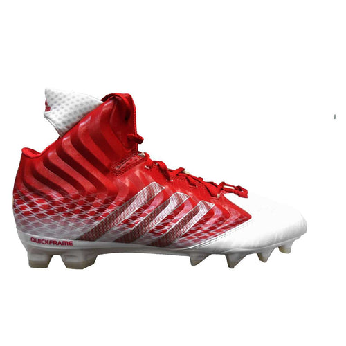 adidas NastyQuick Mid Football Cleats - League Outfitters
