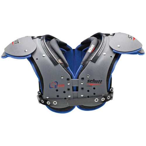 Schutt Adult O2 Pro QB/WR Football Shoulder Pads - League Outfitters