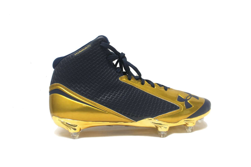 Under Armour Team Nitro Mid D Football Cleats - League Outfitters