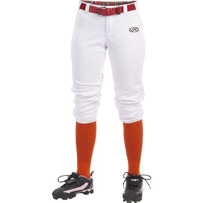Rawlings Women's Launch Solid Low Rise Softball Pants - League Outfitters