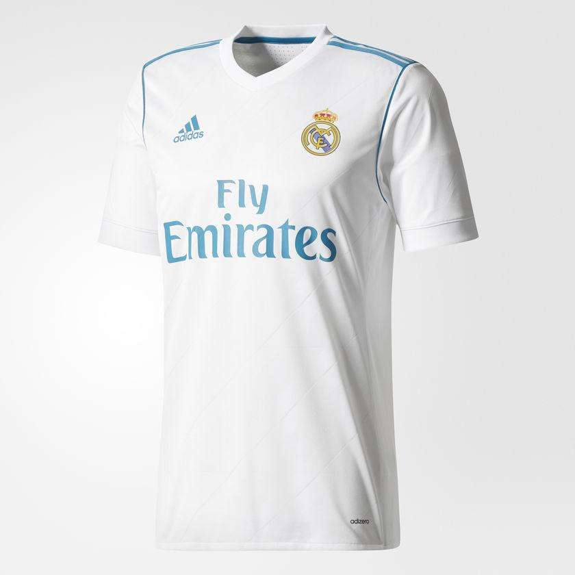 new product 1dc1e 9293f adidas Authentic Real Madrid Home Men's Soccer Jersey