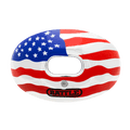 Battle Oxygen Chrome American Flag Mouthguard - League Outfitters
