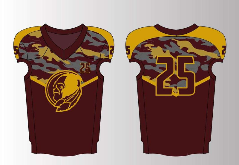 Sublimated Custom Stretch Mesh Jerseys - Redskins - League Outfitters