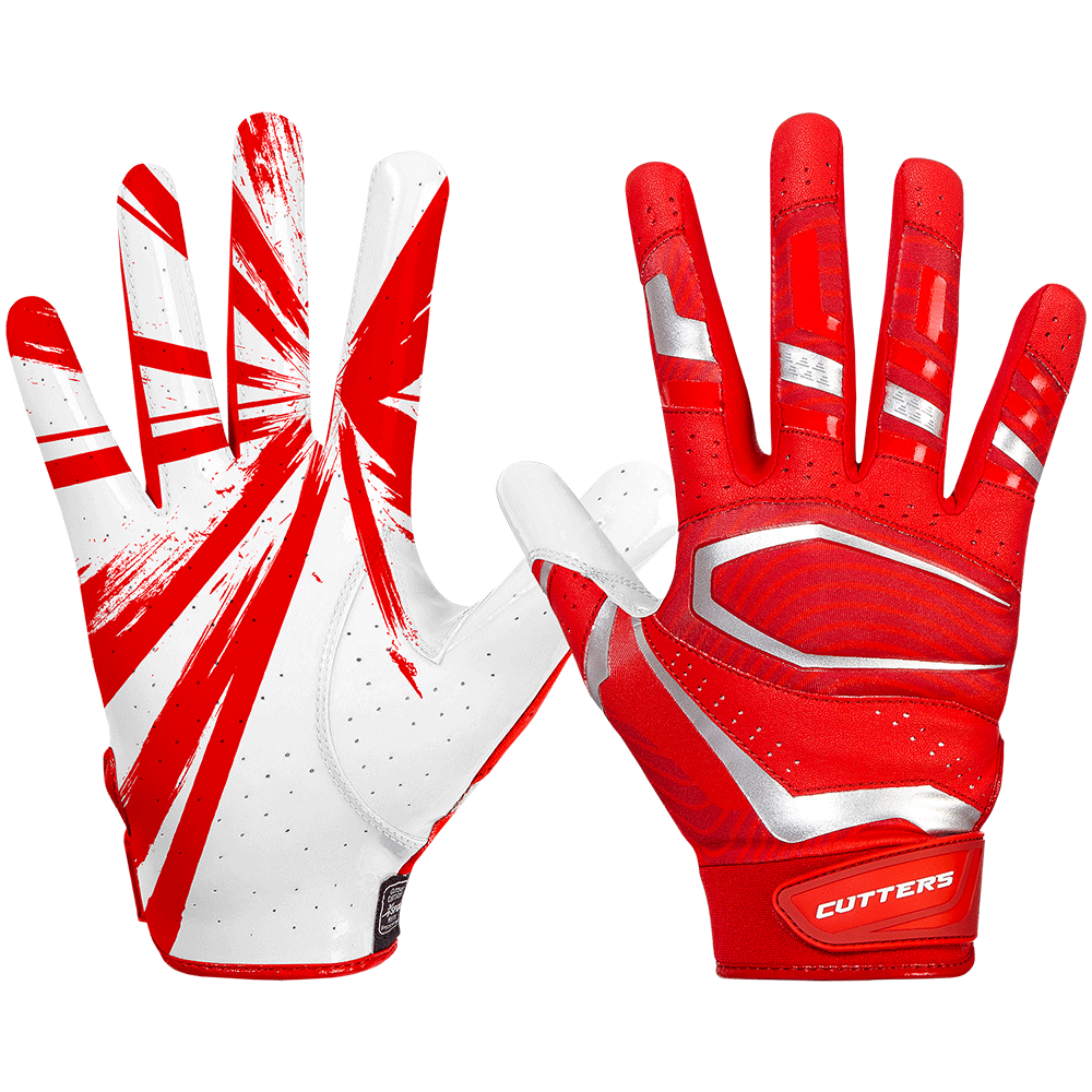 Cutters Rev Pro 3.0 Adult Football Receiver Gloves - League Outfitters