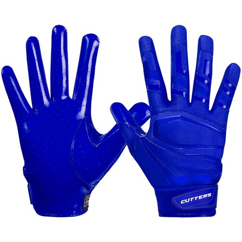 Cutters Rev Pro 3.0 Solid Adult Football Reciever Gloves - League Outfitters