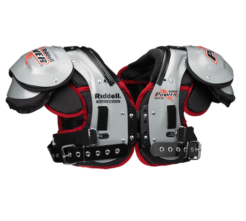 Riddell Power SPX OL/DL Adult Football Shoulder Pads - League Outfitters