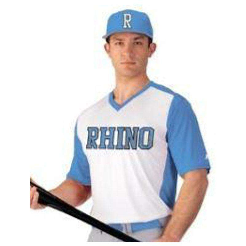 Russell Performance V-Neck Baseball Jersey – League Outfitters
