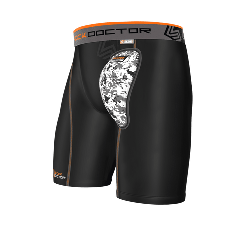 Shock Doctor AirCore Youth Soft Cup Compression Short - League Outfitters