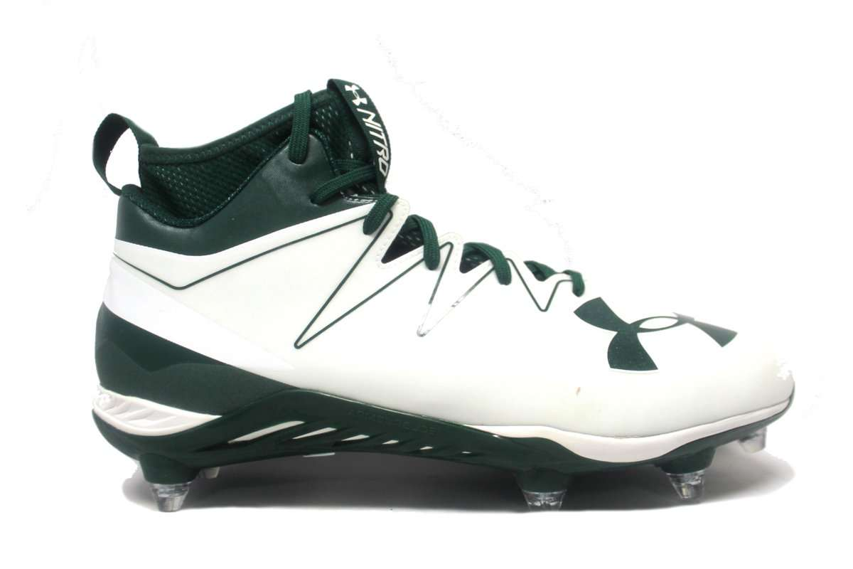 Under Armour Team Nitro Mid D Wide Men s Football Cleats - League Outfitters d80a05f489b9