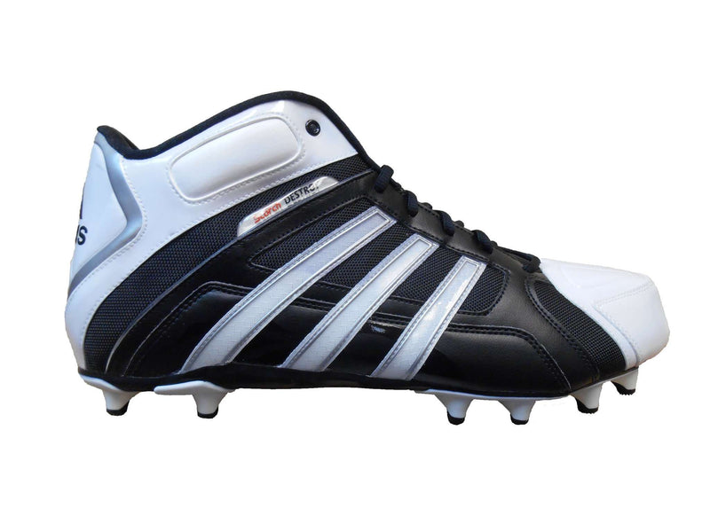 adidas Men's SM Scorch Destroy Fly Mid Football Cleat - League Outfitters