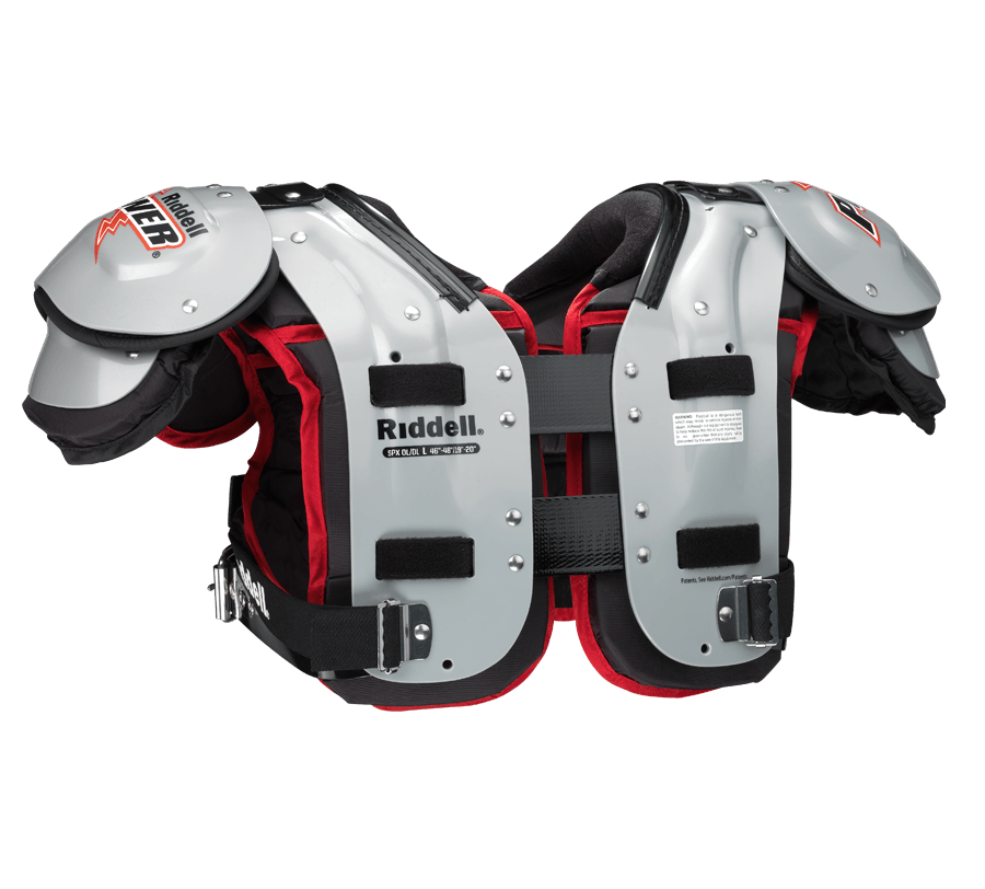 f13f42d4a38 Riddell Power SPX OL/DL Adult Football Shoulder Pads – League Outfitters