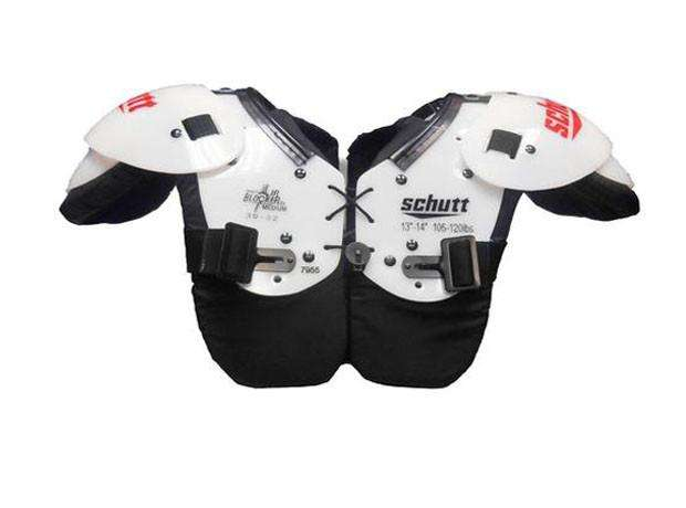 Schutt Jr Blocker Youth Shoulder Pads - League Outfitters
