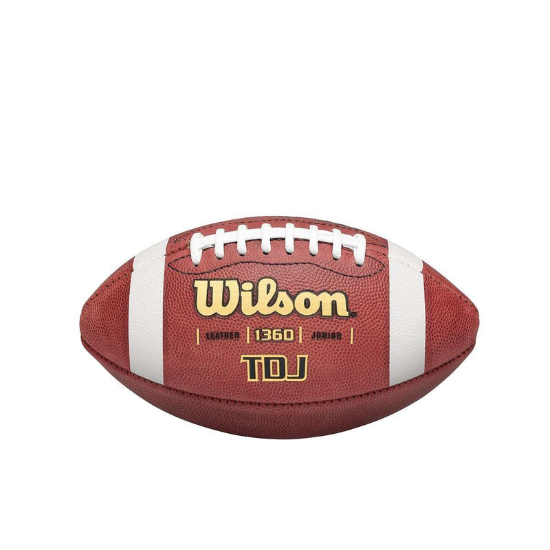 Wilson TDJ Traditional Leather Football - League Outfitters