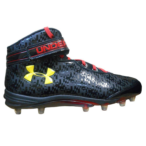 Under Armour Team Run N Gun Com MC Wide Football Cleats - League Outfitters