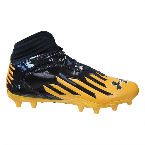 Under Armour Team Nitro IV Mid MC Compfit Football Cleats - League Outfitters