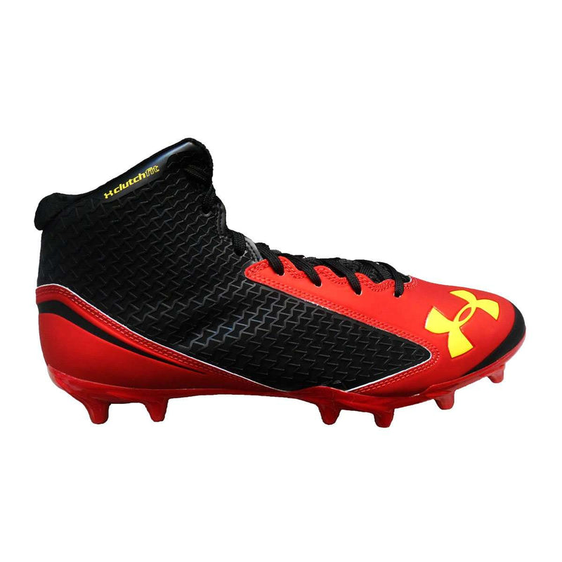 Under Armour Men's Team Nitro Mid Molded Football Cleat - League Outfitters