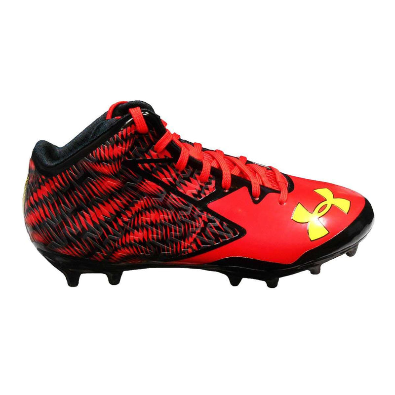 Under Armour Team Nitro Mid MC Football Cleats - League Outfitters