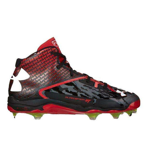 Under Armour Deception Mid DT Baseball Cleats - League Outfitters