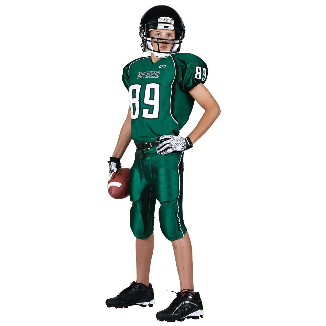 ac4bc9fd9 Rawlings Adult Tackle Twill Football Jersey - Mid Rivers - League Outfitters