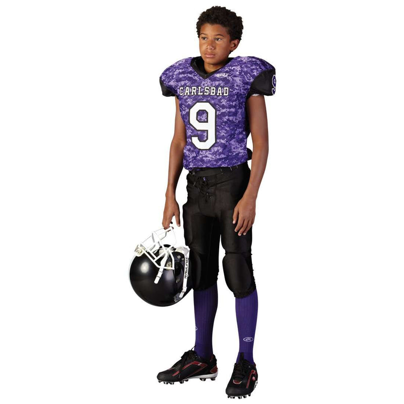 Rawlings Adult Sublimated Football Jersey - Carlsbad - League Outfitters