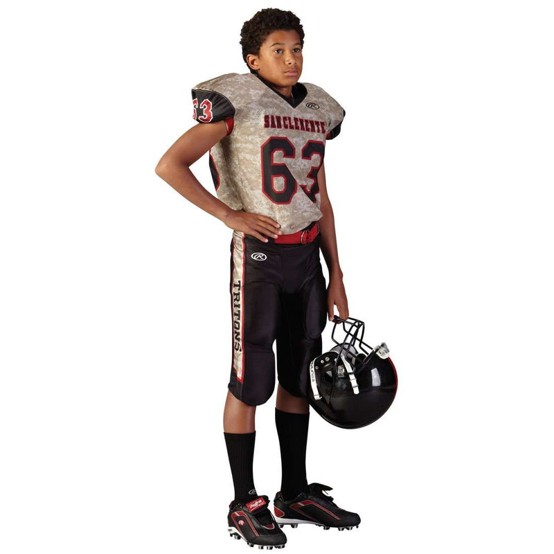 Rawlings Youth Sublimated Football Jersey - San Clemente - League Outfitters