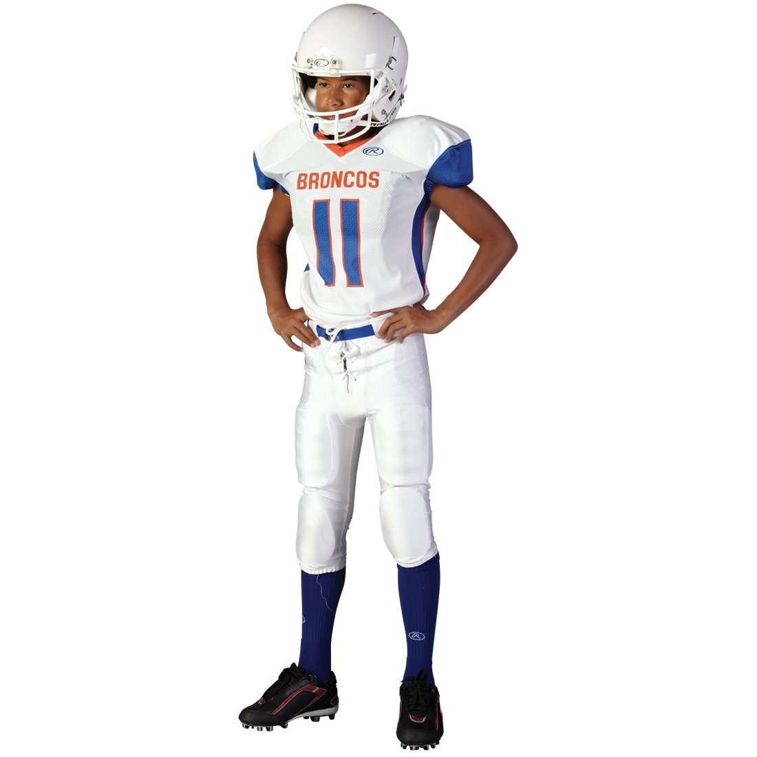 bcb120a06 Rawlings Youth Sublimated Football Jersey - Broncos – League Outfitters