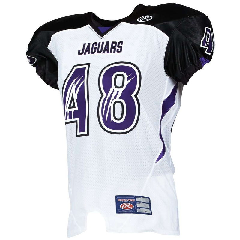 Rawlings Youth Tackle Twill Football Jersey - Jaguars - League Outfitters